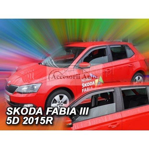 Paravanturi HEKO SKODA FABIA III 5 usi Htb 2014-> fata-spate