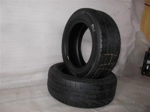 Pereche 2 anvelope iarna Pirelli Sottozero 245/55R17 102V,DOT 1914 , Folosite un singur sezon
