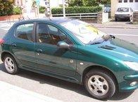 Peugeot 206, motor 1.4B, an 1999, hatchback, editia roland garros