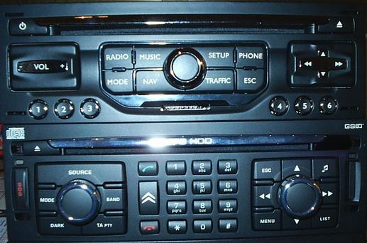 Ongekend Peugeot-Citroen navigatie harti SD CARD My-way Rneg romania europa RD-76