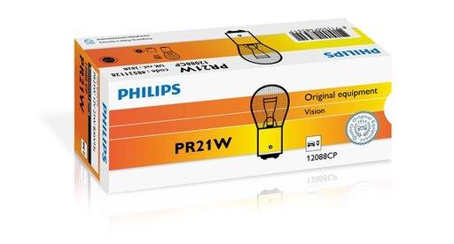 Philips set 10 becuri lampa frana spate ford focus 2, citroen c3, saab 9-3