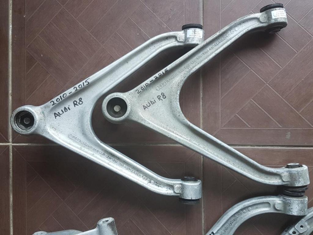 Piese Set Audi R8(bascula stanga /dreapta , suport fuzeta stanga/dreapta, brat suport fuzeta stanga/dreapta)