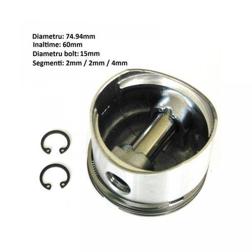 Piston compresor diametru 75mm 2x2x4mm Mercedes Iveco DAF Renault MAN | Piese Noi | Livrare Rapida