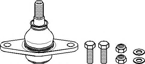 Pivot MINI MINI (R50, R53), MINI MINI Cabriolet (R52) - TOPRAN 501 067