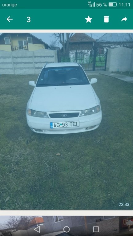 Pivot roata (CIELO EXECUTIV AN 1996-2002 benzina