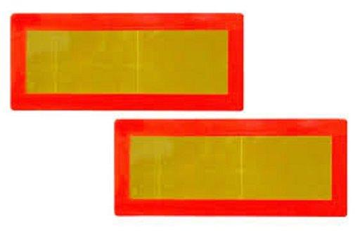 Placi reflectorizante mari 55 cm x 20 cm