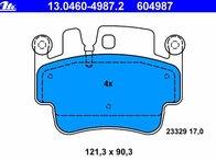 Placute de frana Porsche 911 (996) Carrera cod: 604987