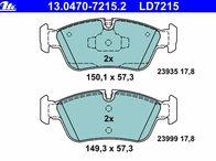 Placute frana fata ATE Ceramic BMW E90 cod:13.0470-7215.2 --- cel mai bun pret ---