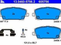 Placute frana fata Honda Civic 8 cod: 2408701 TEXTAR