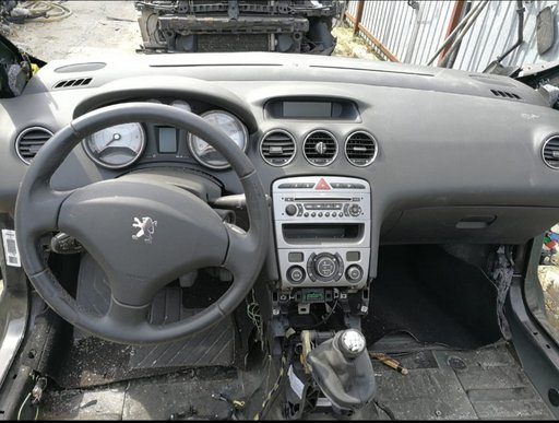 Plansa bord cu airbag-uri și centuri peugeot 308 1.6 an 2009