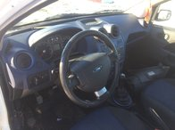 Plansa bord ford fiesta an 2007 mk 5 airbag volan + pasager centuri pretensionere modul kit complet