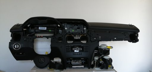 Plansa bord mercedes glk x204 an 2015 completa de airbag sofer pasager si centuri