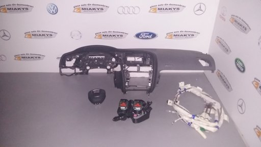 Plansa bord+set airbag-uri Audi A5 (negru/gri)