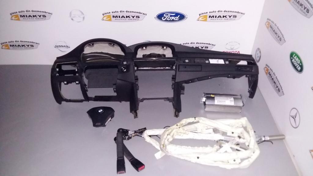 Plansa bord+set airbag-uri+centuri BMW E60