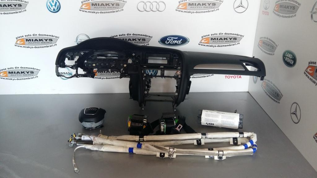 Plansa bord+set airbag-uri+centuri+cortine Au