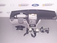 Plansa bord+set airbag-uri Mercedes W204 (gri/negru)
