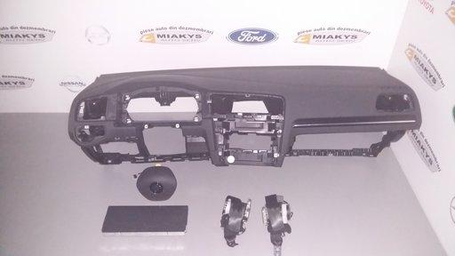 Plansa bord+set complet airbag-uri VW Golf 7