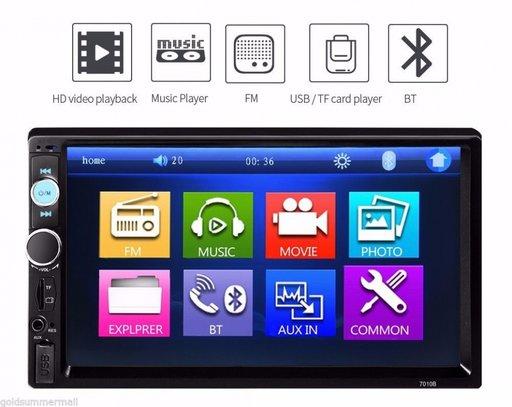 PLAYER / Radio MP3 / MP4 /DVD AUTO cu Mirrorlink 7 inch