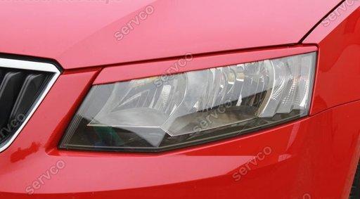 Pleoape faruri Skoda Octavia 3 ABS