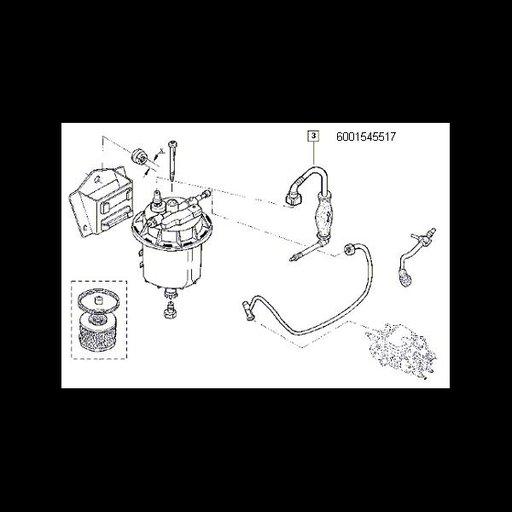 Pompa amorsaj D1304 / Solenza 1.9D