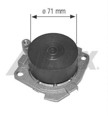 Pompa apa Alfa Romeo 156 1.6 77 KW - Airtex