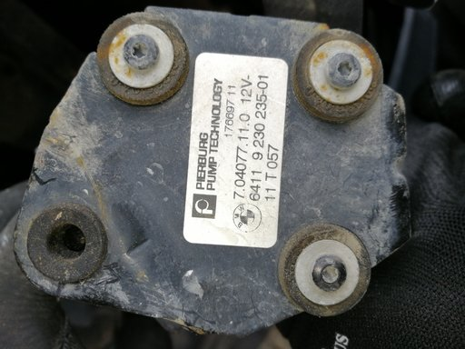 Pompa apa auxiliară BMW seria 5 F10 3,0 2011 cod