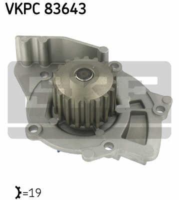 Pompa apa Ford FOCUS II 2.0 TDCI 98 KW - SKF VKPC 83643