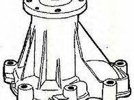 Pompa apa MERCEDES-BENZ G-CLASS ( W461 ) 02/1990 - 2018 - producator TRISCAN 8600 23838 - 304077 - Piesa Noua