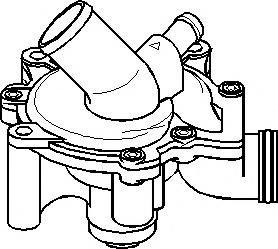 Pompa apa MINI MINI (R50, R53), MINI MINI Cabriolet (R52) - TOPRAN 501 075