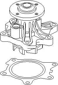 Pompa apa MINI MINI (R50, R53) - TOPRAN 501 076