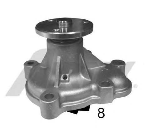 Pompa apa RENAULT MEGANE Scenic ( JA0/1 ) 10/1996 - 12/2001 - producator HAGER H9674 - 301562 - Piesa Noua