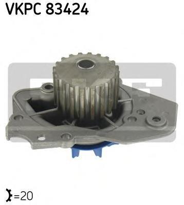 Pompa apa ROVER 200 hatchback (XW), LADA NIVA (2121), ROVER 400 (XW) - SKF VKPC 83424