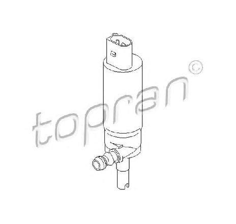 Pompa de apa, spalare faruri SKODA ROOMSTER ( 5J ) 03/2006 - 05/2015 - piesa NOUA - producator TOPRAN 110 472 - 305507