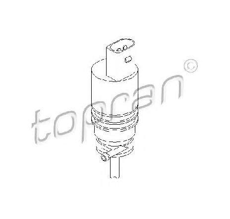 Pompa de apa, spalare parbriz SKODA ROOMSTER ( 5J ) 03/2006 - 05/2015 - piesa NOUA - producator TOPRAN 107 818 - 305507