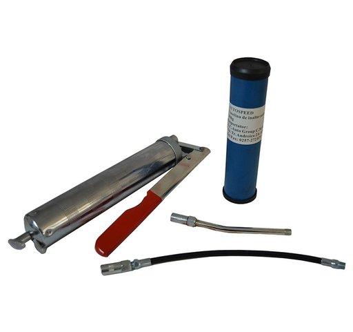 Pompa gresare manuala cu tub vaselina