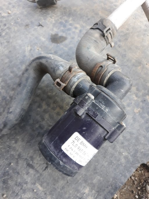 Pompa suplimentara de apa Audi Q7 cod:7L0965561K