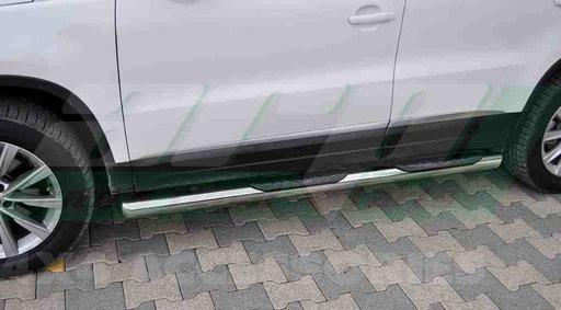Praguri Laterale inox Hyundai Santa Fe 2007 - 2013