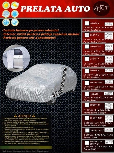 Prelata auto GRUPA C22D DELUX compatibil DACIA DUSTER I si II