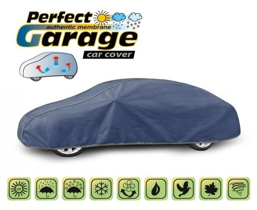 Prelata auto, husa exterioara Lamborghini Huracan impermeabila in exterior anti-zgariere in interior lungime 440-480cm, XL Coupe model Perfect Garage
