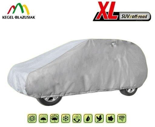 Prelata Auto , Husa Exterioara Ssangyong Rexon impermeabila in exterior , anti-zgariere in interior, XL SUV lungime 450-510cm - PAHE1078