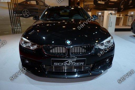 Prelungire ACS AC SCHNITZER lip bara fata BMW Seria 4 F32 F33 F36 M pack Aero sport M4 tech v3