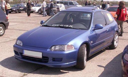 Prelungire adaos fusta spoiler bara fata Honda Civic 1992 1995