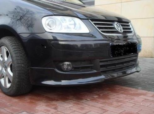 Prelungire adaos fusta spoiler bara fata VW Touran 2003 2007 ver2