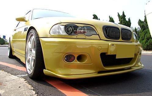 Prelungire bara fata BMW E46 Mpakiet pentru pachet M si bara M3 ver 2