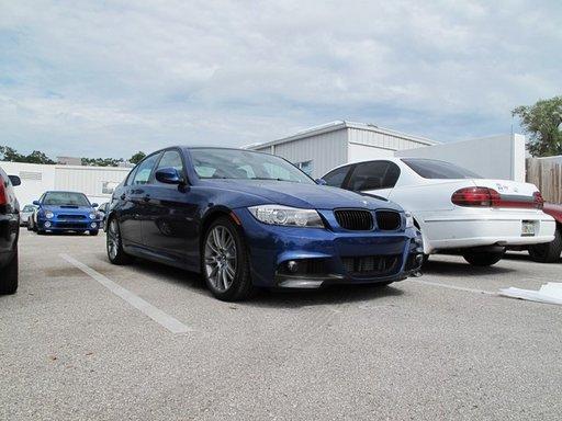 Prelungire bara fata BMW E90 2009 2012 facelift M pakiet pachet M
