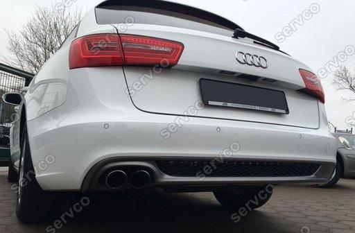 Prelungire difuzor bara spate Audi A6 4G C7 2011-2014 S6 Sline ver2