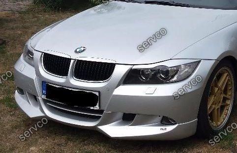 Prelungire difuzor spoiler bara fata BMW E90 E91 ACS AC SCHNITZER 2005-2008 v7