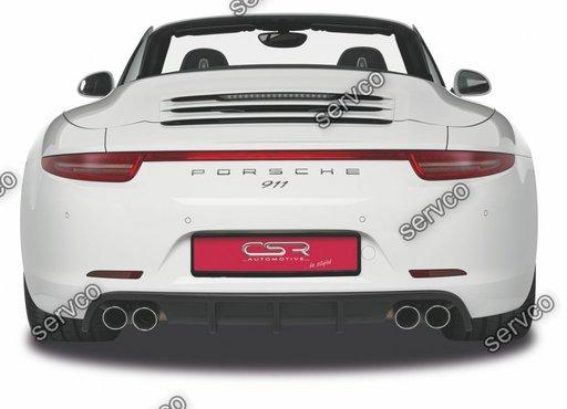 Prelungire difuzor tuning sport bara spate Porsche 911/991 HA115 2011-2019 v1