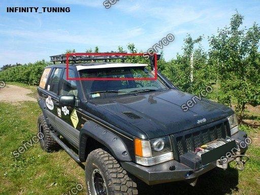 Prelungire Eleron spoiler tuning sport parasolar parbriz Jeep Grand Cherokee ZJ 1993-1998 ver2