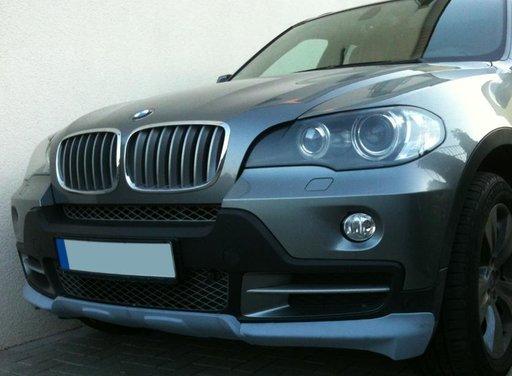 Prelungire extensie fusta spoiler bara fata BMW X5 E70 Aero Mtech M